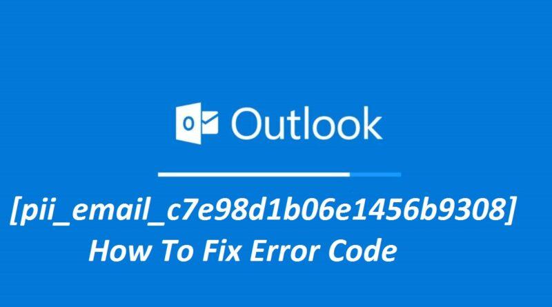 [pii_email_c7e98d1b06e1456b9308] error code